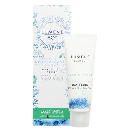 Oxygenating Day Fluid SPF30 Summer Campaign