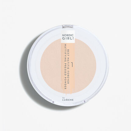 BEST MAT(T)E FOREVER Mattifying pressed powder