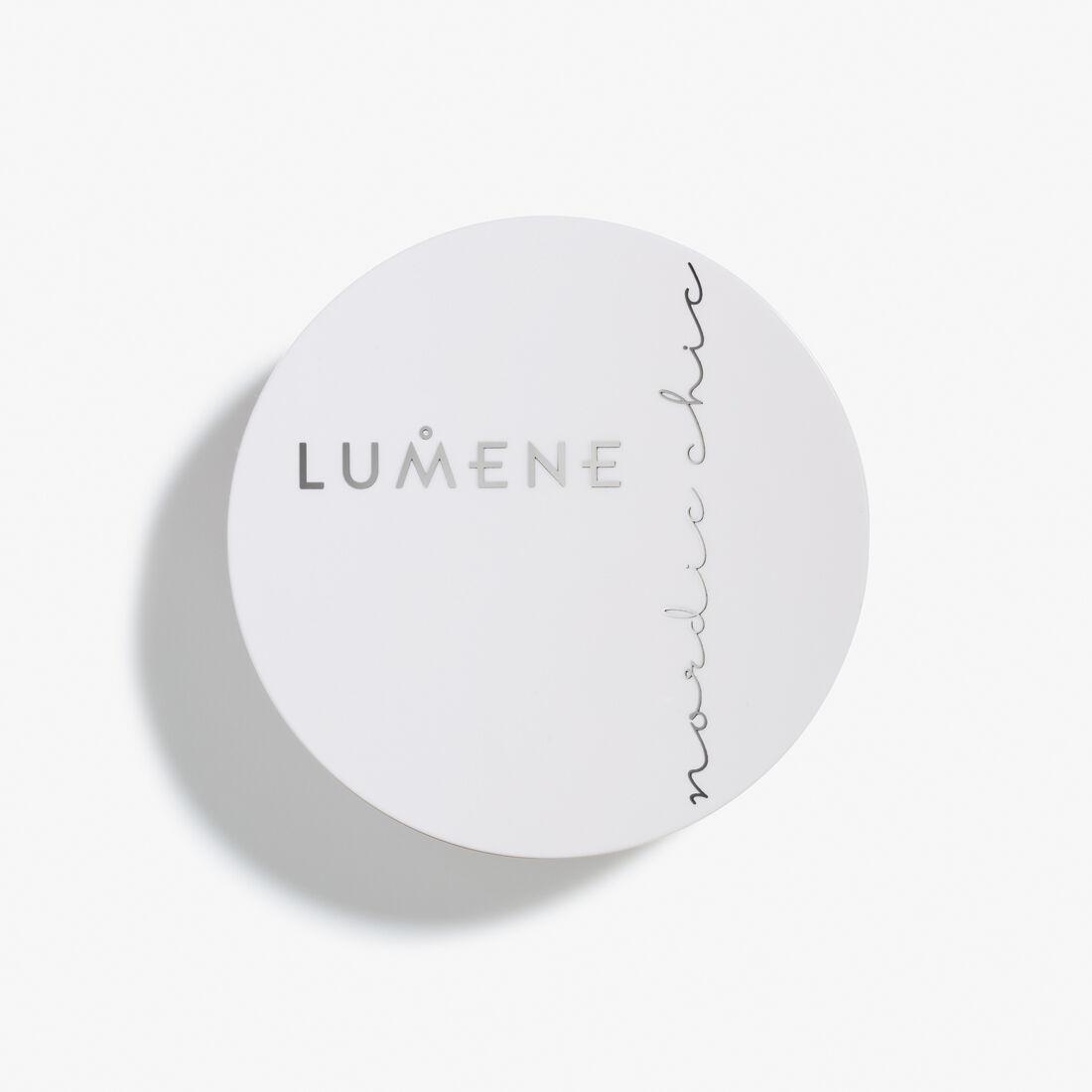 lumene loose powder recension