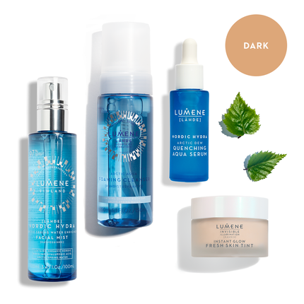 The Ultimate Hydration Set Dark (worth €90.60)