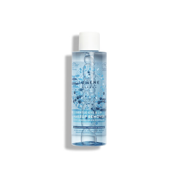 HERKKÄ Gentle Eye & Lip Makeup Remover