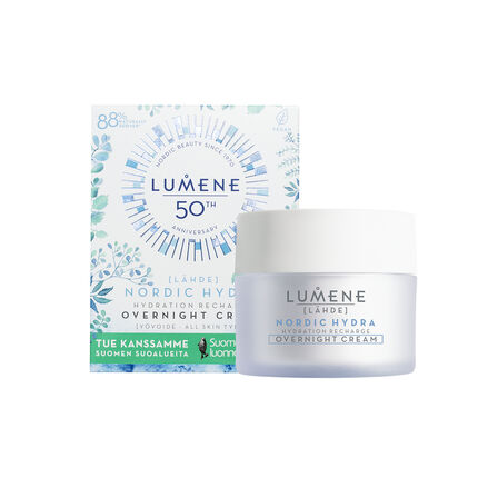 Hydration Recharge Overnight Cream Summer Campaign