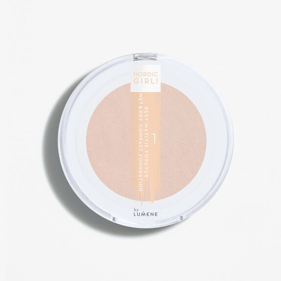 BEST MAT(T)E FOREVER Wet & dry compact foundation