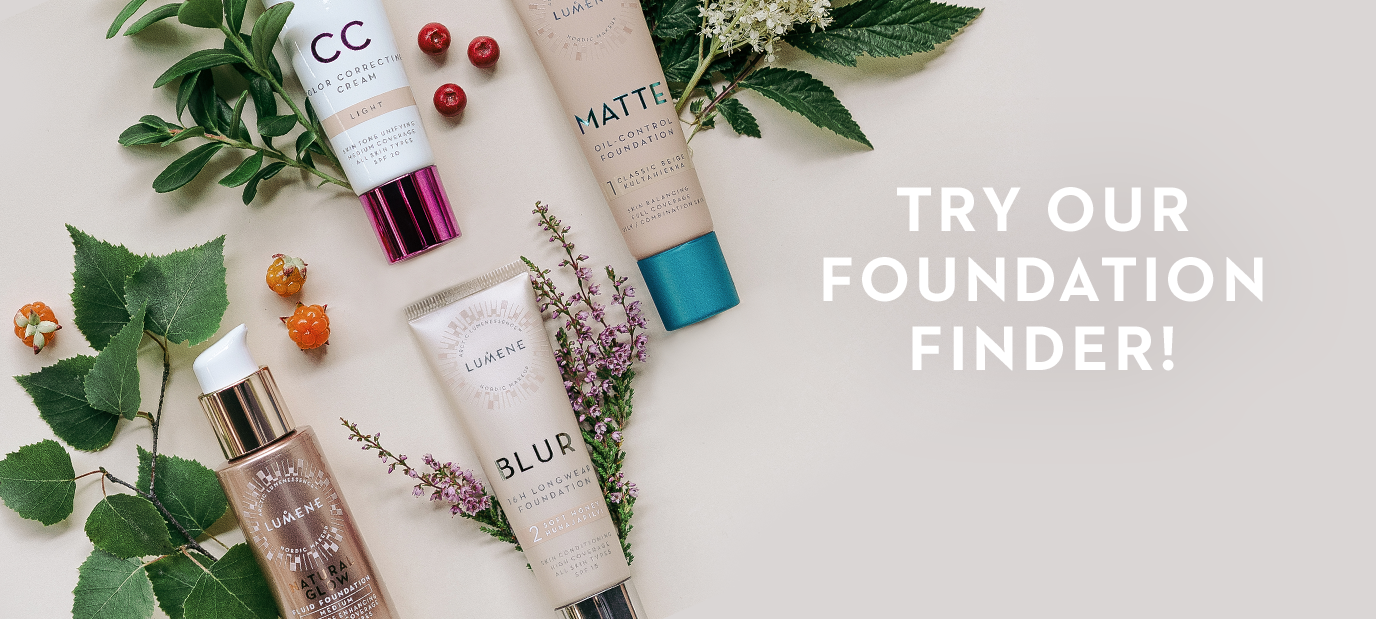 Try our Foundation Finder